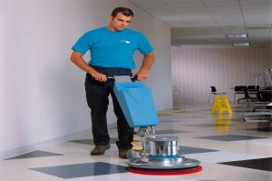 Waxing Tile Floors